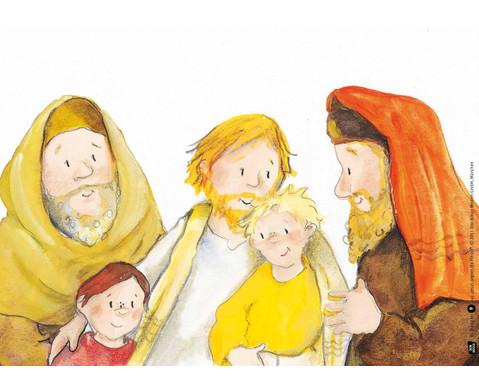 Jesus segnet die Kinder-4
