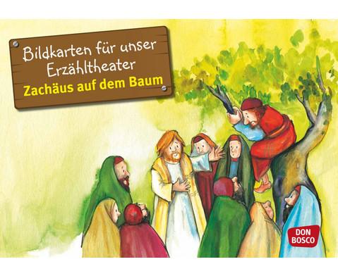 Bildkarten Zachaeus auf dem Baum