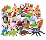 Tier-Handspielpuppen, 35 Stück