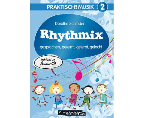 Buch  CD Rhythmix gesprochen gereimt gelernt gelacht-1