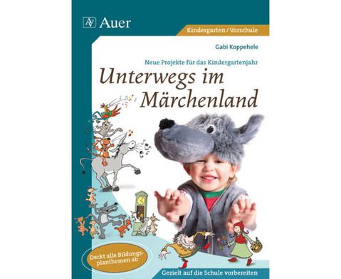 Buch  CD Unterwegs im Maerchenland-2