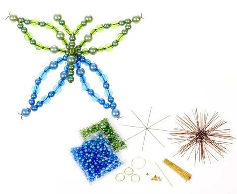 Schmetterling-Draht-Set gruen-blau