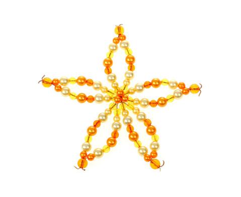 Blumen-Draht-Set orange-gelb-5