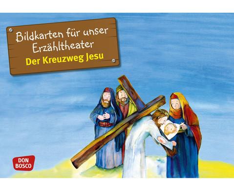 Der Kreuzweg Jesu Kamishibai-Bildkartenset
