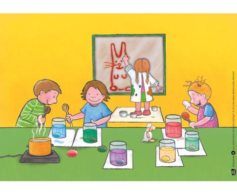 Bildkarten Ostern feiern mit Emma und Paul-2