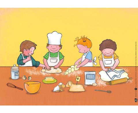 Bildkarten Ostern feiern mit Emma und Paul-4