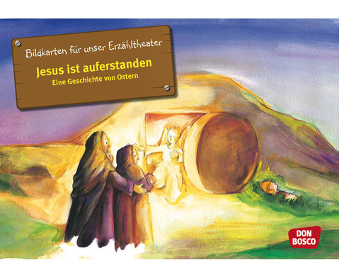 Jesus ist auferstanden Kamishibai-Bildkartenset
