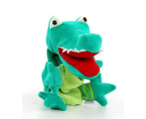 Handpuppe Krokodil-2