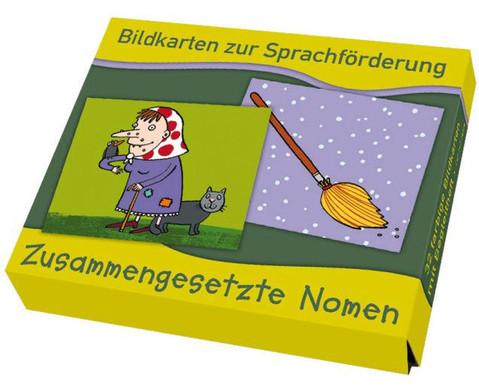 Bildkarten zur Sprachfoerderung Zusammengesetzte Nomen