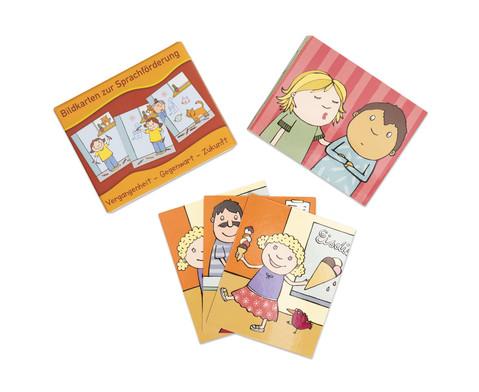 Bildkarten zur Sprachfoerderung Vergangenheit - Gegenwart - Zukunft-1