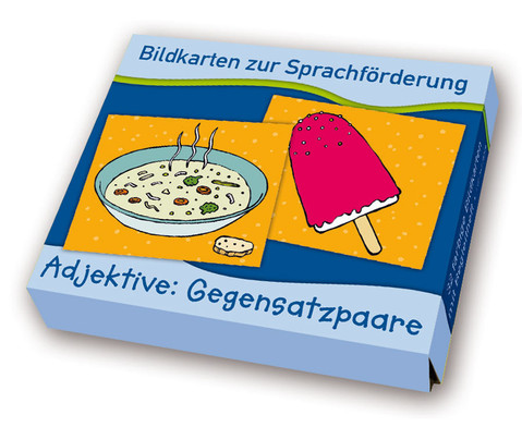 Bildkarten zur Sprachfoerderung Adjektive Gegensatzpaare-1