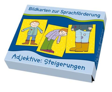Bildkarten zur Sprachfoerderung Adjektive Steigerungen-1