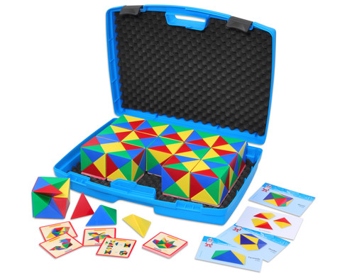 Geometrie-Bausatz im Koffer-1