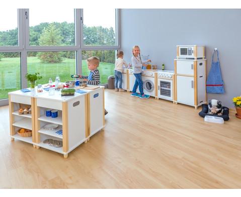 Waschmaschine fuer Kindergarten-Modulkueche-4
