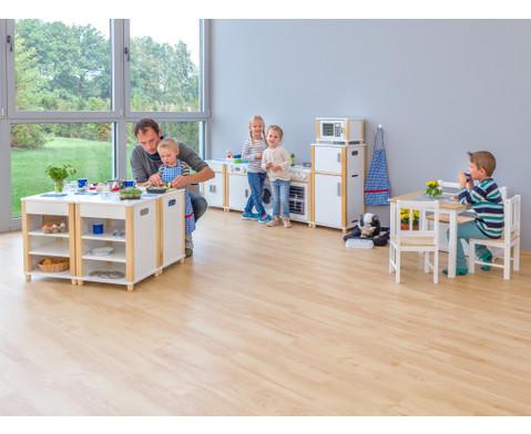 Mikrowelle fuer Kindergarten-Modulkueche-2