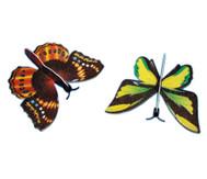 48 Styropor-Schmetterlinge