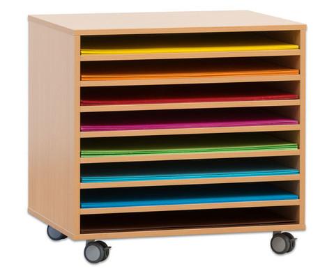 papierwagen f r papier liegend. Black Bedroom Furniture Sets. Home Design Ideas