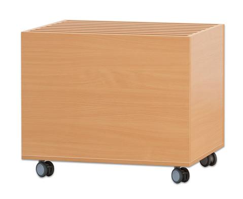 Papierwagen Papier stehend-1