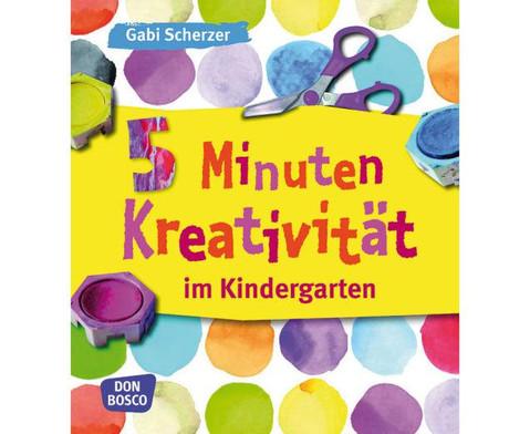 Buch 5 Minuten Kreativitaet im Kindergarten