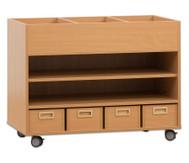 Universalwagen für Bastelmaterial & Bücher
