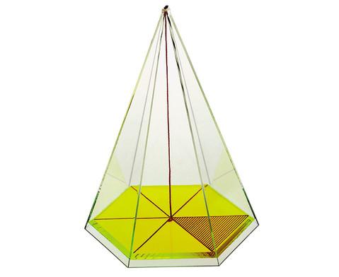 Sechsseitige Pyramide-1