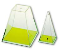 Vierseitige Pyramide, 20 cm hoch
