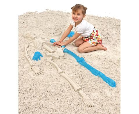Skelett-Sandspielformen