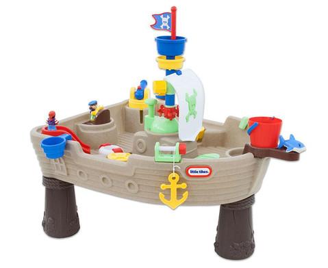 Spieltisch Piratenschiff