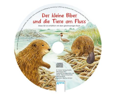 BuchCD Der kleine Biber und die Tiere am Fluss-2