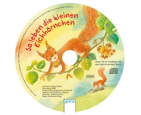 BuchCD So leben die kleinen Eichhoernchen-2
