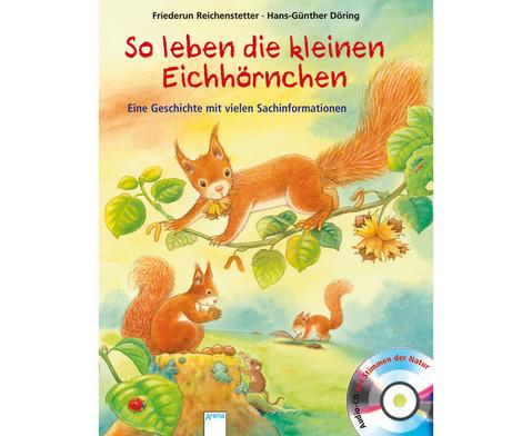 BuchCD So leben die kleinen Eichhoernchen-1