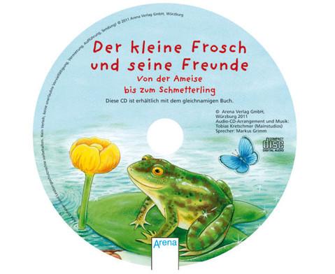 BuchCD Der kleine Frosch und seine Freunde-2