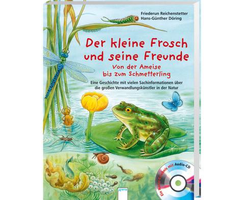 BuchCD Der kleine Frosch und seine Freunde-1