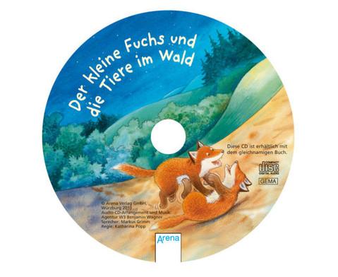 BuchCD Der kleine Fuchs und die Tiere im Wald-2
