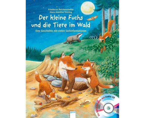 BuchCD Der kleine Fuchs und die Tiere im Wald-1