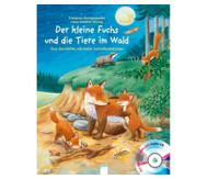 Buch+CD: Der kleine Fuchs und die Tiere im Wald