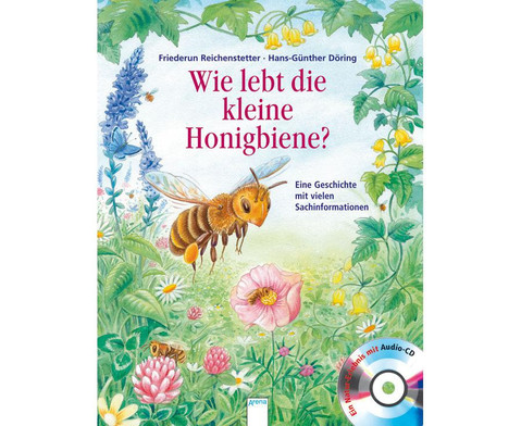 BuchCD Wie lebt die Honigbiene-1