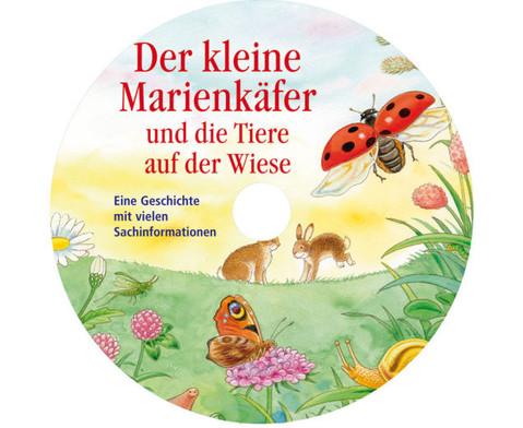 BuchCD Der kleine Marienkaefer und die Tiere auf der Wiese-2