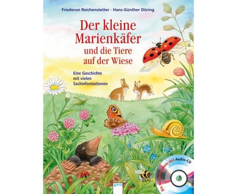 BuchCD Der kleine Marienkaefer und die Tiere auf der Wiese-1