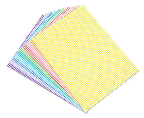Karo-Fotokarton 300 g-m 10 Bogen in 8 Farben-1