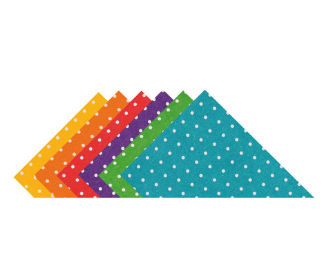 Puenktchen-Fotokarton 300 g-m 10 Blatt DIN A4 Einzelfarbe-1