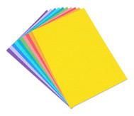 Pünktchen-Fotokarton 300 g/m², 10 Blatt DIN A4 in 10 Farben