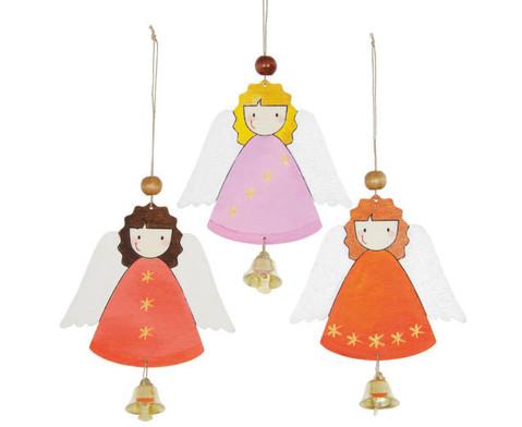 6 Weihnachtsanhaenger Lockiges Engelchen-2