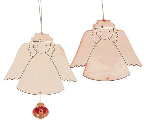 6 Weihnachtsanhaenger Lockiges Engelchen-7