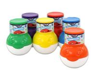 Fingermalfarben 6er-Set, 6 x 500 ml