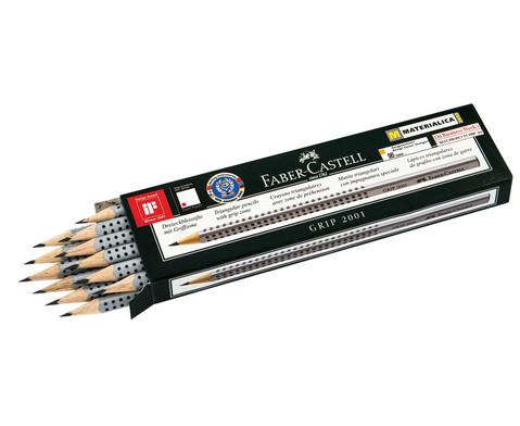 FABER-CASTELL Grip-Bleistift  7 mm 12er-Pack