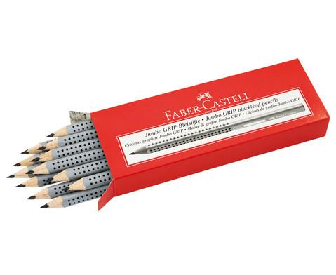 FABER-CASTELL Jumbo-Grip-Bleistift  10 mm12er Pack