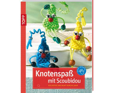 Knotenspass mit Scoubidou-1
