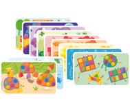 Playmais 14 Motivkarten Farben & Formen