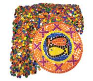 10.000 quadratische Papier-Mosaik-Plättchen